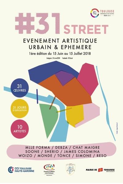 AGENDA / Pendant un mois, le Street Art s'invite dans les rues de Toulouse