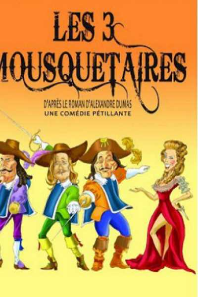 LES 3 MOUSQUETAIRES (FRANCISCA ROSELL)