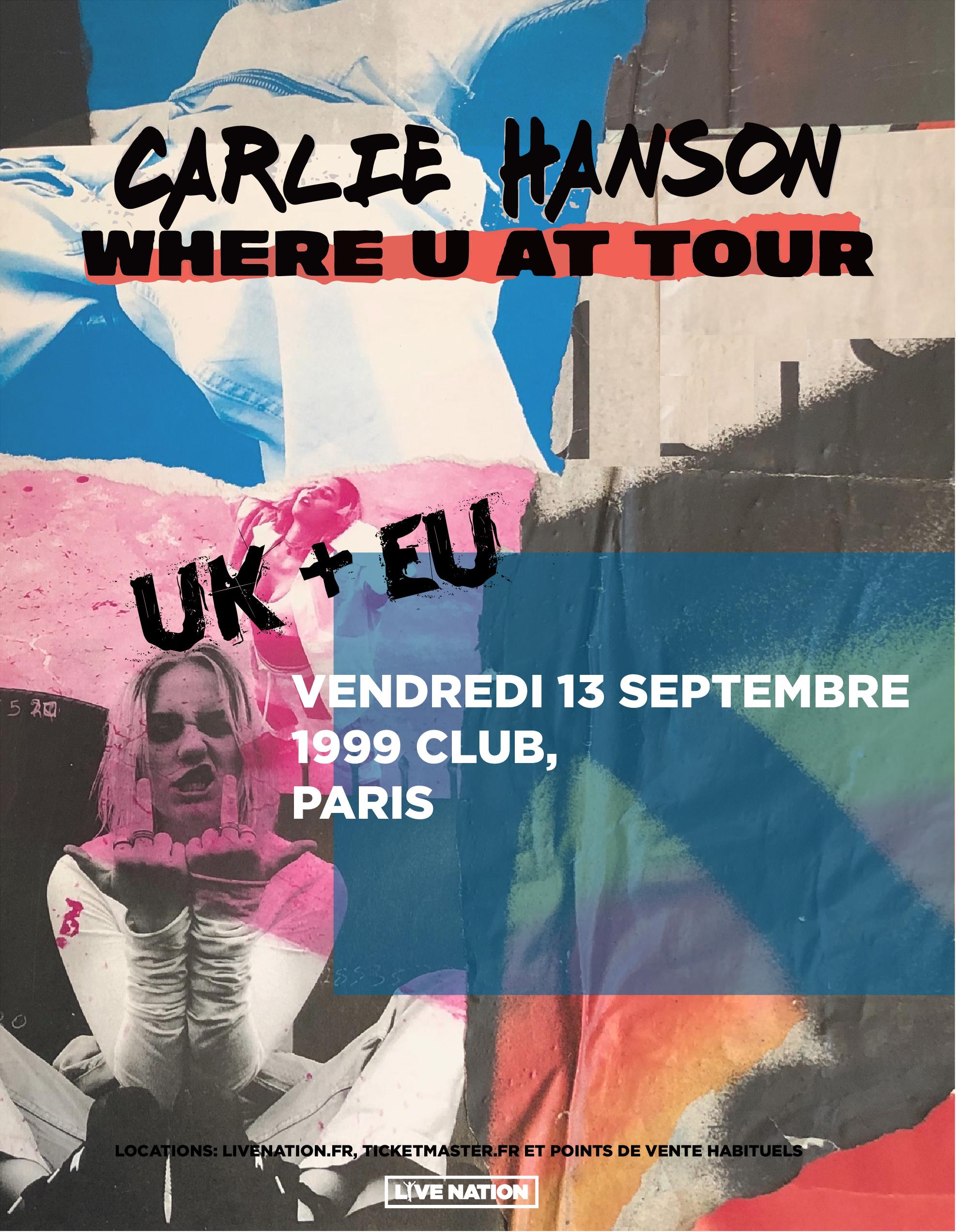 concert Carlie Hanson
