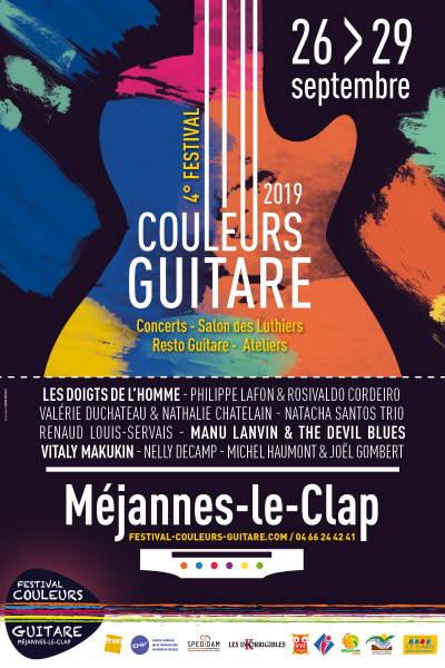 Festival Couleurs Guitare à Méjannes le Clap - Gard