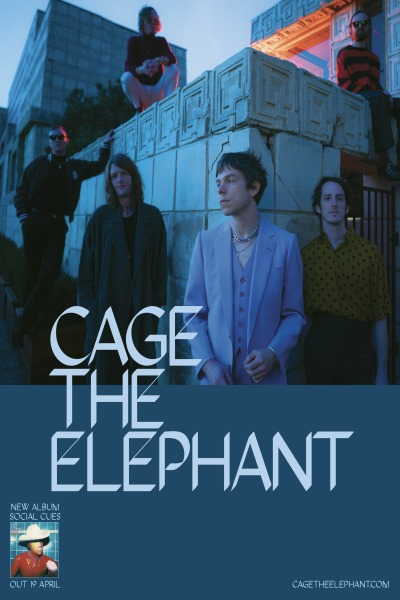 concert Cage The Elephant