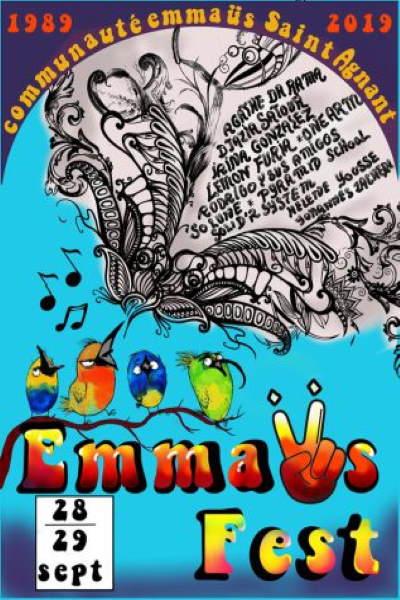 concert Emmaus Saint Agnant Fete Ses 30 Ans