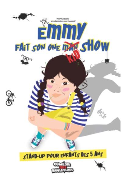 EMMY FAIT SON ONE KID SHOW