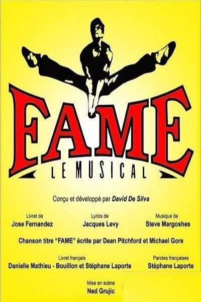 spectacle Fame de Fame - Le Musical