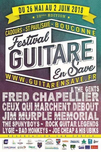 Festival Guitarensave_Programmation 2018