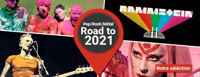 POP-ROCK-METAL : ROAD TO 2021