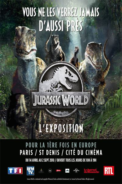 JURASSIC WORLD - L'EXPOSITION