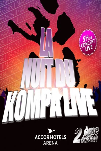 concert La Nuit Du Kompa 2019