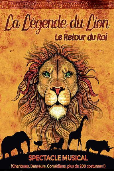 concert La Legende Du Lion - Le Retour Du Roi
