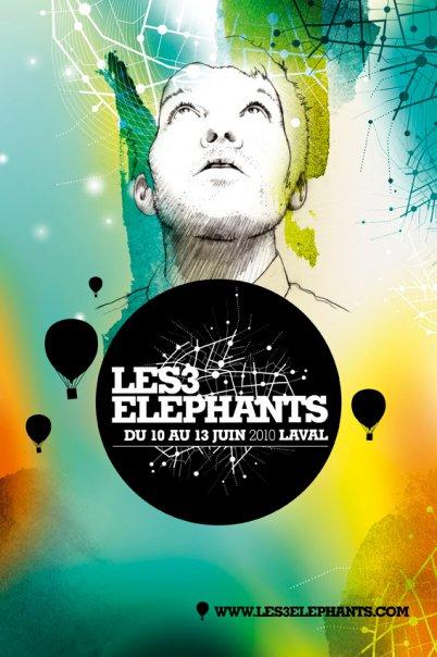 LES 3 ELEPHANTS - Programmation 2010