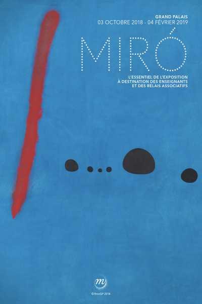 AGENDA / Miro s'invite au Grand Palais le temps d'une exposition