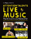 Attention Talents Live Music : gagnez votre invitation au concert