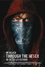 Metallica 'Through The Never' en 3D au cinéma. Réserver votre billet