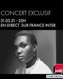 Arlo Parks et Eddy de Pretto sur France Inter : la double affiche concert  est reporté au vendredi 2 avril