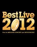 Votez pour désigner le premier lauréat du prix Best Live 2012