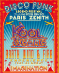 TOURNEE / Kool & the Gang, Earth Wind and Fire Experience et Imagination réunis sur scène pour le Disco Funk Legend Festival !