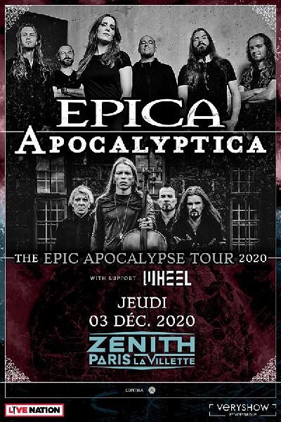 Epica & Apocalyptica ensemble sur scène pour une tournée mondiale !
