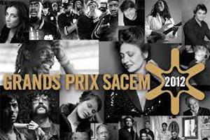 Grand Prix SACEM : les lauréats 2012 sont...