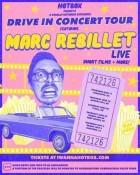 Plus de concerts dans les salles ! Marc Rebillet part faire la tournée des drive in américains