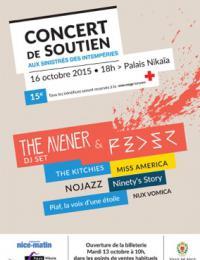 CONCERT DE SOUTIEN / The Avener, Feder et la scène niçoise en concert en soutien des sinistrés des Alpes Maritimes