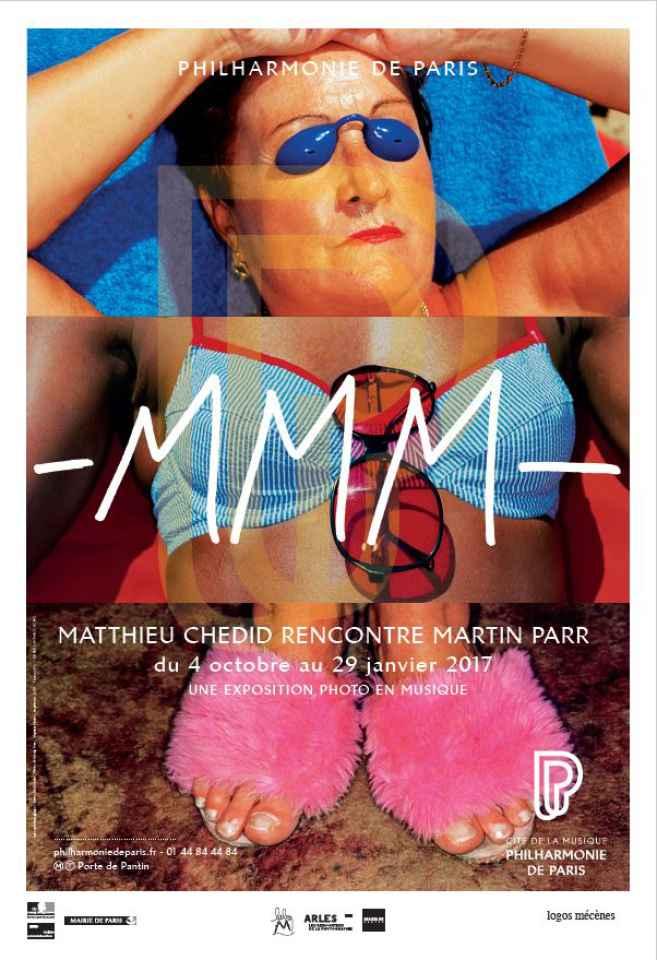 COUP DE COEUR / Quand Matthieu Chedid s'expose avec le photographe Martin Parr à la Philharmonie de Paris !