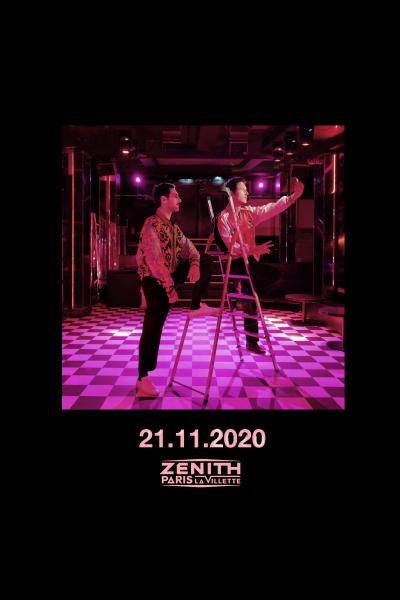 Le duo AaRON fait son retour ! En concert au Zénith de Paris en novembre 2020