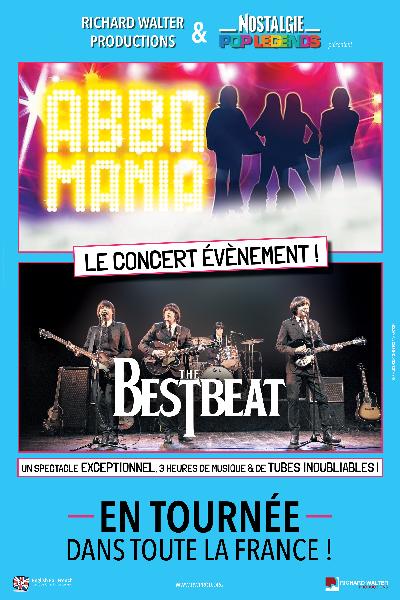 POP LEGENDS | The Bestbeat & Abba [Tournée 2022] v.2