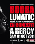 Booba en direct de son concert à Bercy