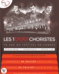concert Les 1000 Choristes Fetent Les 70 Ans Du Festival De Cannes