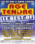 concert Age Tendre Le Best Of