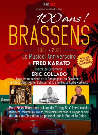 concert Les 100 Ans De Brassens