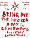 Le groupe de métal Bring Me The Horizon en concert au Zénith de Paris en novembre