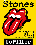 spectacle The Rolling Stones No Filter de The Rolling Stones