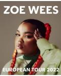 L'étoile montante Zoe Wees fera sa première tournée européenne en 2022 ! Concerts à Paris, Lyon, Tourcoing, Genève, etc.