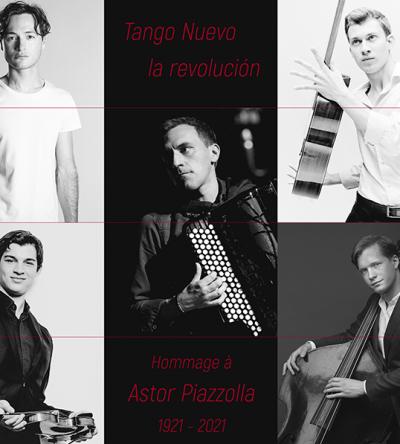 concert Felicien Brut - Quinteto Nuevo Tango