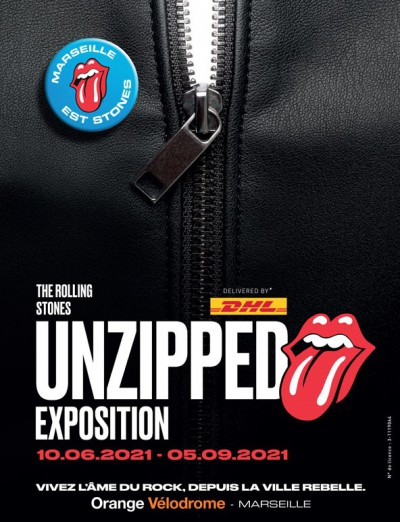 """Concert The Rolling Stones """"unzipped"""" Exposition"""