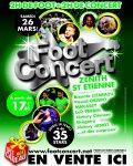 Foot Concert à Lyon : musique et sport réunis pour la bonne cause