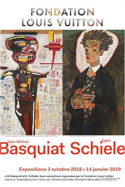 Schiele, Basquiat, deux