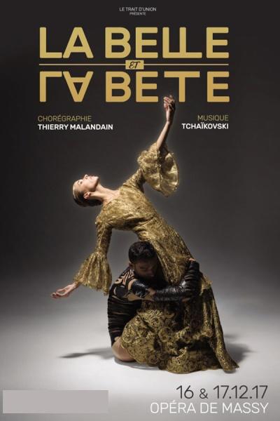 LA BELLE ET LA BETE (THIERRY MALANDAIN)