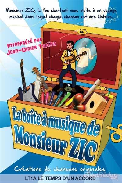 LA BOITE A MUSIQUE DE MONSIEUR ZIC