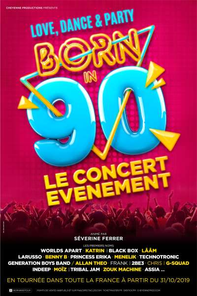 Spectacle BORN IN 90 de BORN IN 90