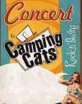 concert Camping Cats