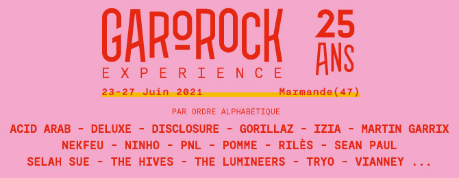 GAROROCK FESTIVAL 2021