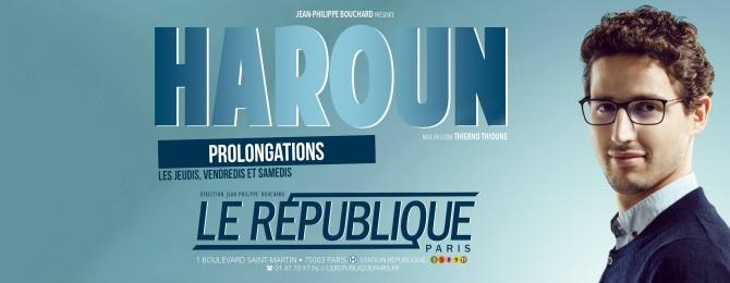 Prolongation au République à Paris