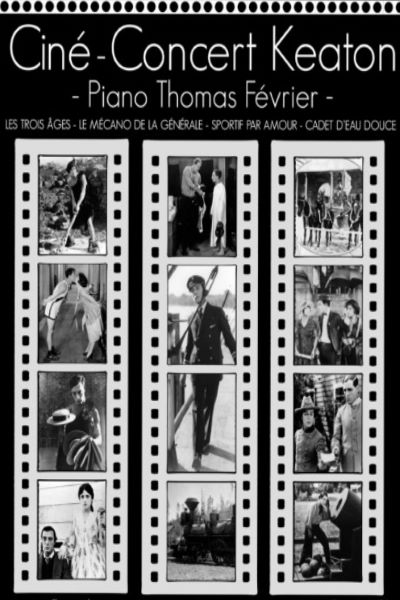 concert Cine-concert - Buster Keaton