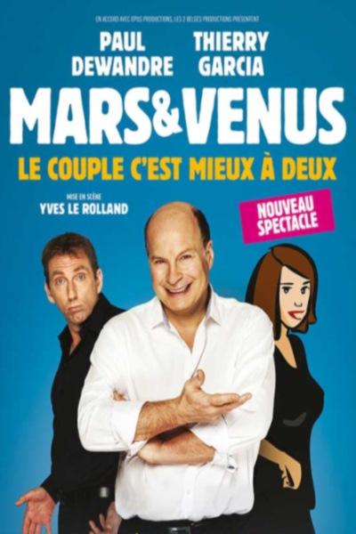 MARS ET VENUS - LE COUPLE C'EST MIEUX A DEUX