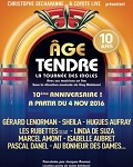 concert Age Tendre - 10eme Anniversaire