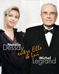 """concert Natalie Dessay Et Michel Legrand (""""entre Elle Et Lui"""")"""