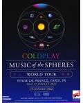 Diffusion ce soir sur Youtube du concert de Coldplay !