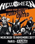 HELLOWEEN - PUMPKINS UNITED World Tour 2017 / 2018